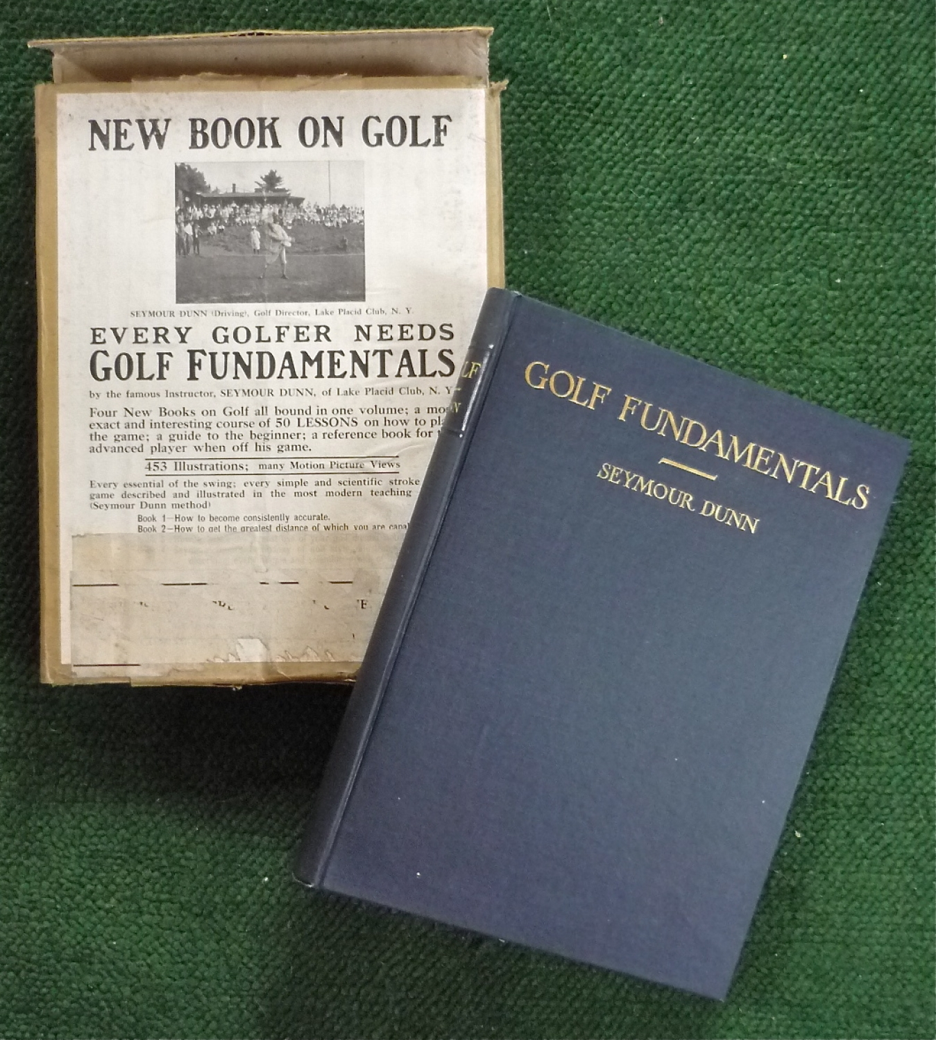 Golf Fundamentals by Seymour Dunn