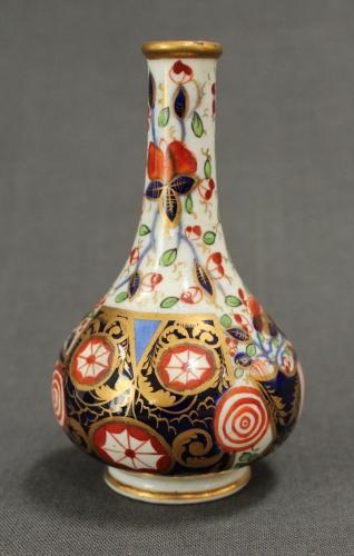 A 19th Century Derby miniature vase