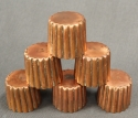 A set of six 19th Century copper moulds - picture 3