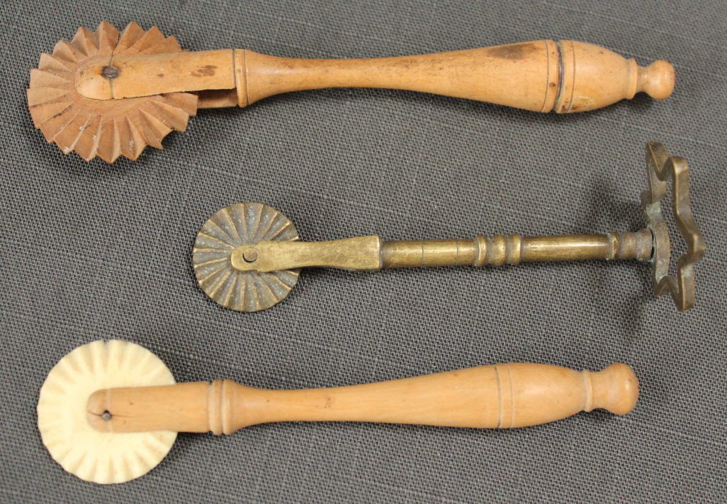 Two 19th Century pastry cutters