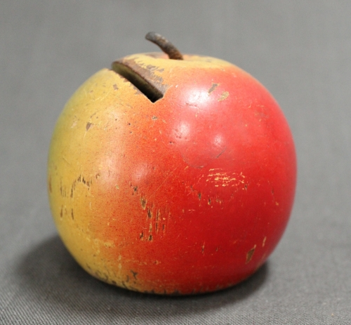 A 19th Century Scottish apple money bank