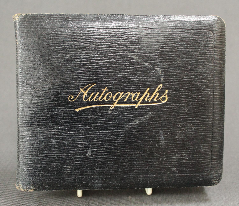 A 1930's Autograph Album
