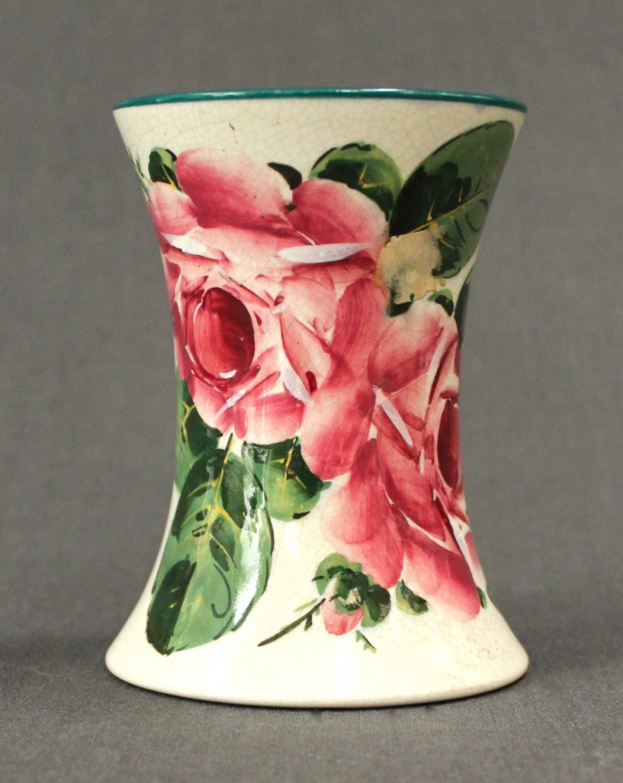 A Wemyss Ware waisted vase