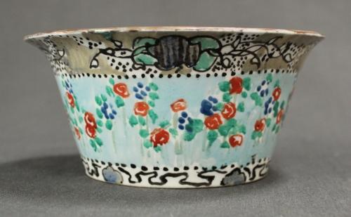 A Bough Pottery sugar bowl