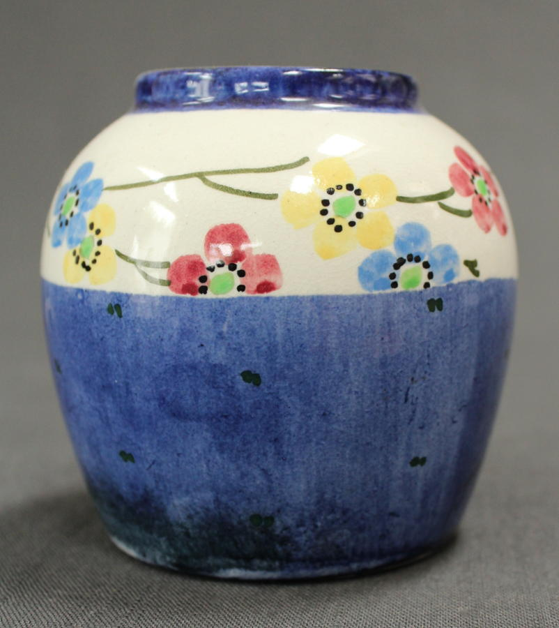 A Bough Pottery circular jar