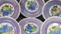 A set of six Mak'Merry dessert plates - picture 2