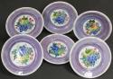 A set of six Mak'Merry dessert plates - picture 3