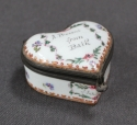 A Samson heart shaped patch box - picture 3