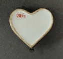 A Samson heart shaped patch box - picture 4