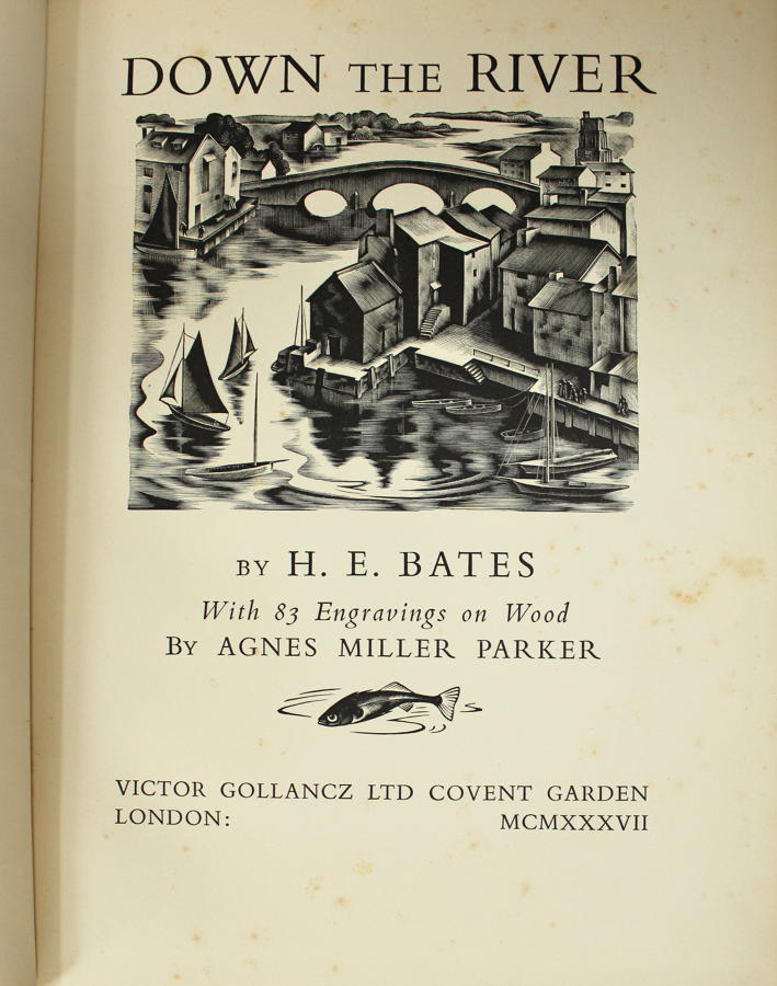 H. E. Bates and Agnes M. Parker