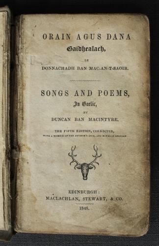 Duncan Ban Macintyre
