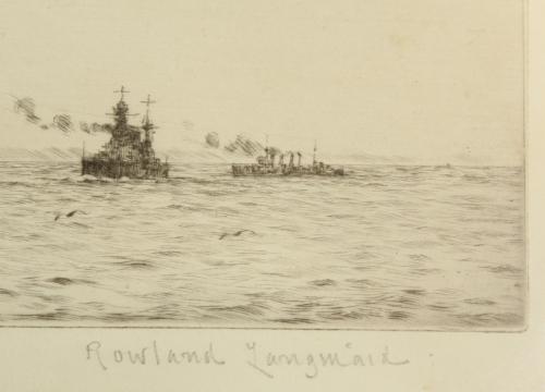 Lt. Com. Rowland Langmaid