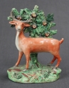 An early 19th Century bocage figure of a deer - picture 1