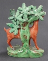 An early 19th Century bocage figure of a deer - picture 3