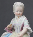 A pair of 19th Century Meissen figures - picture 2