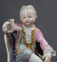 A pair of 19th Century Meissen figures - picture 3