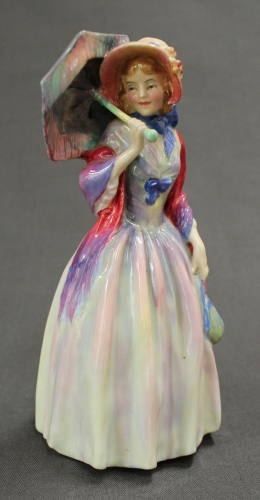 A Royal Doulton figure - Miss Demure
