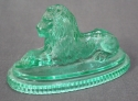 A glass lion by John Derbyshire of Manchester - picture 2