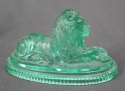 A glass lion by John Derbyshire of Manchester - picture 3