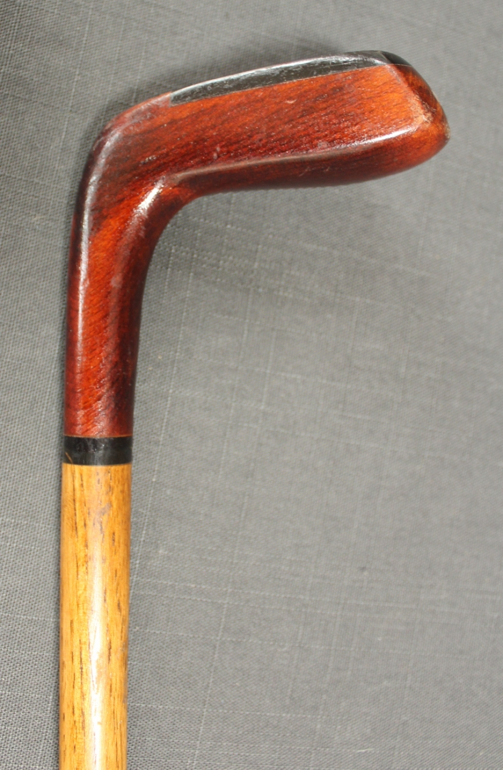 A hickory shafted Sunday stick