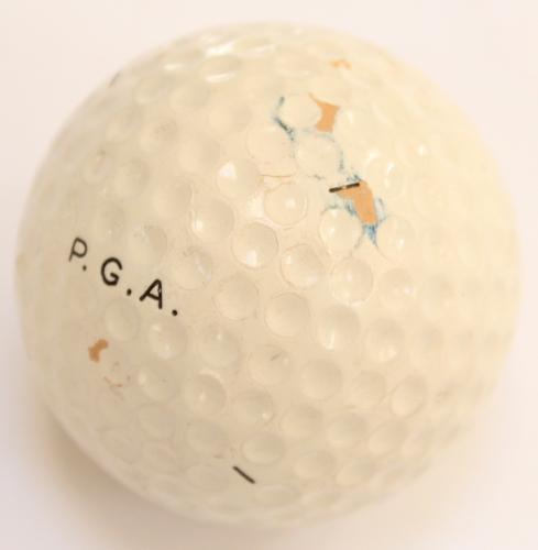 A PGA Bromford 18 vintage golf ball
