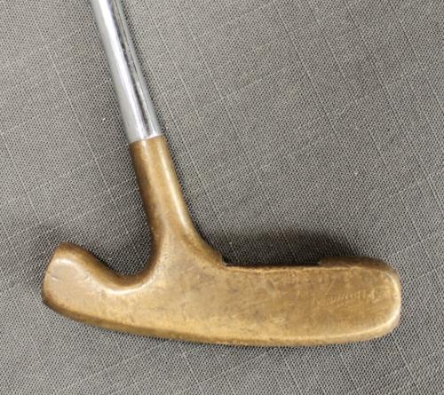 A vintage Slazenger Eaglet putter