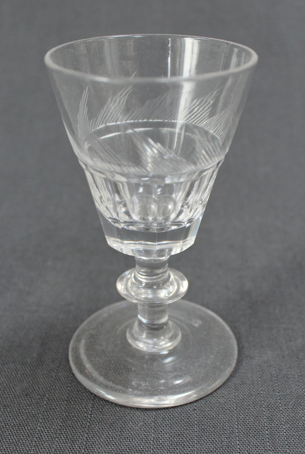 A 19th Century liqueur glass