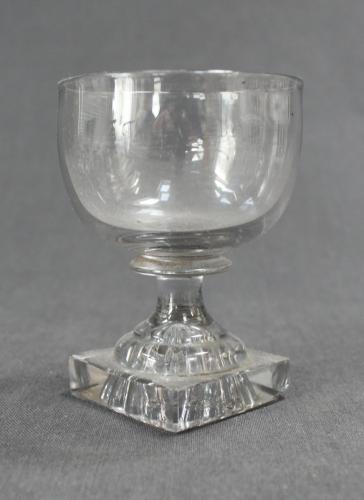 A Regency wine glass