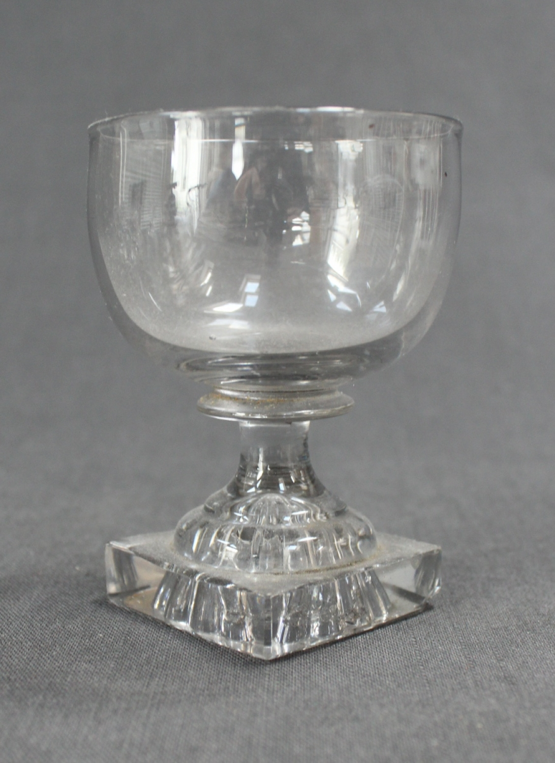 A Regency wine glass