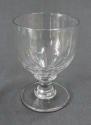 A mid Victorian glass rummer - picture 1