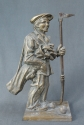 A cast metal 'golf caddie' companion stand - picture 1
