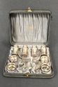 An American Sterling silver cruet set - picture 2