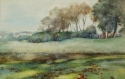 A golfing watercolour - picture 1
