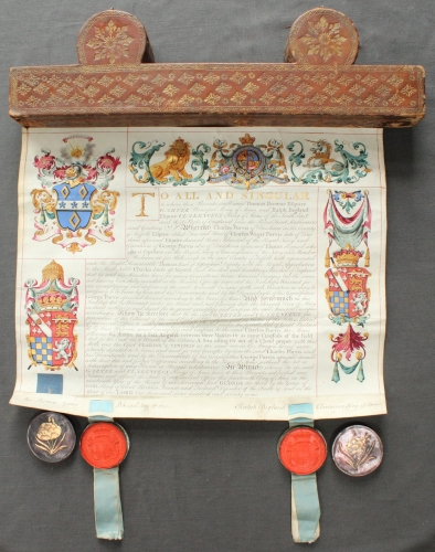A Geo. III Grant of Arms
