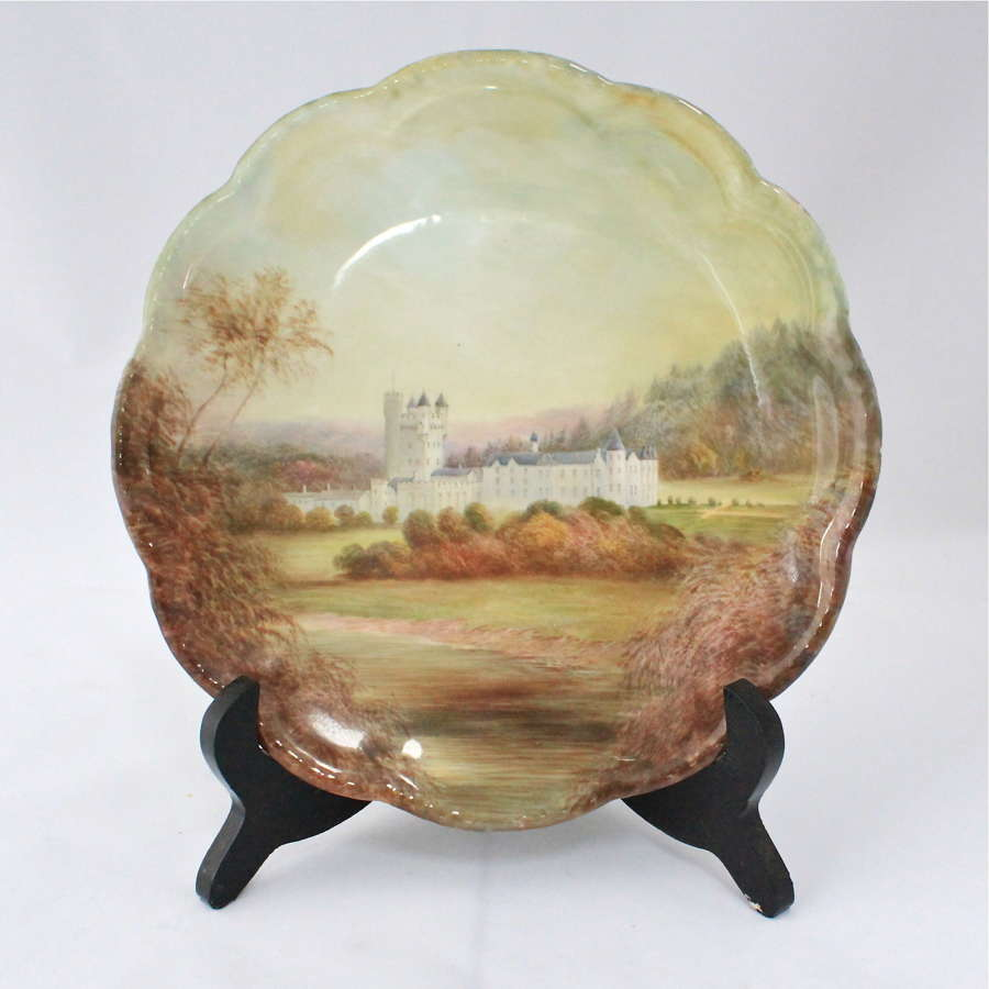 Cauldon 'Balmoral' cabinet plate