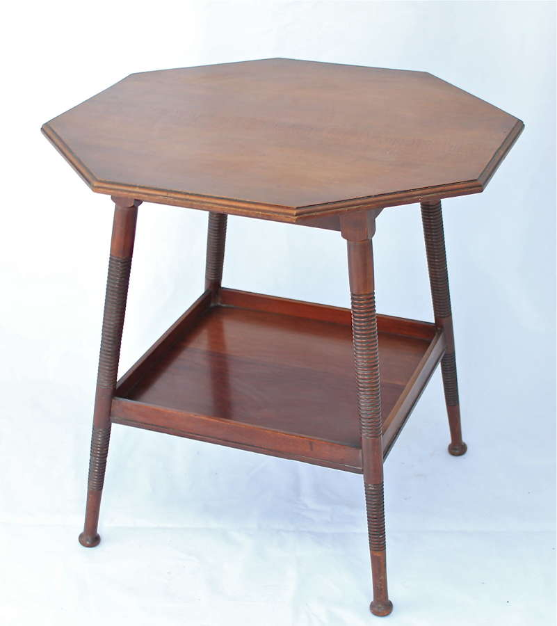 An Arts & Crafts William Birch walnut table
