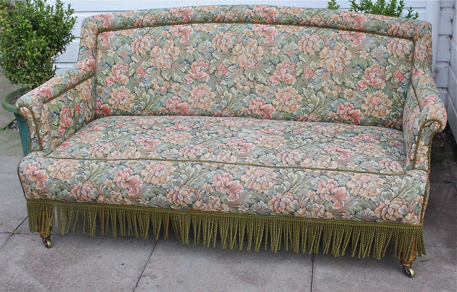 Gillow of Lancaster Satinwood Sofa