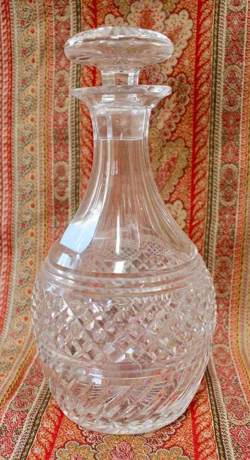 VICTORIAN GLASS DECANTER